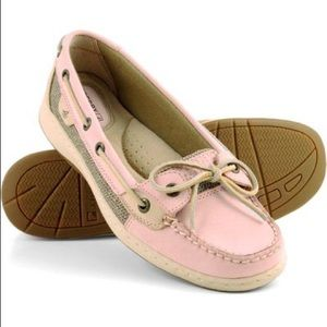 Sperry Angelfish slip on shoes pink size 8.5